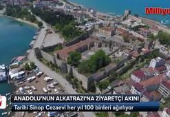 Tarihi Sinop Cezaevine ziyaretçi akını