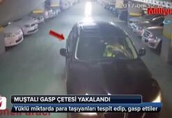 Muştalı gasp çetesi polis tarafından yakalandı