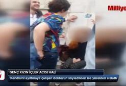 İstanbul'un göbeğinde genç kızın içler acısı hali