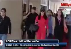 Adriana Lima Antalyada