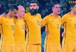 Suudi Arabistanlı futbolcular saygı duruşuna katılmadı