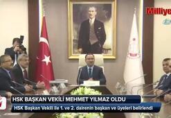 HSK Başkan Vekilliği görevine Mehmet Yılmaz seçildi