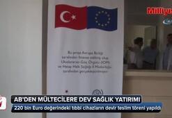 Avrupa Birliğinden Suriyeli mültecilere dev sağlık yatırımı