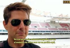 Tom Cruise, Wanda Metropolitanı ziyeret etti