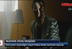 Mustafa Ceceli eşinden boşandı