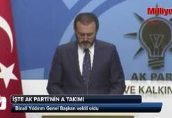 AK Partinin yeni A Takımı