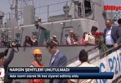 Azerbaycandaki Nargin Adası şehitleri unutulmadı