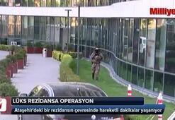 İstanbulda lüks rezidansa operasyon