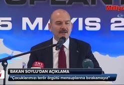 Bakan Soylu: Çocuklarımızı terör örgütü mensuplarına bırakamayız