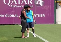 Barcelonada Ronaldinho sürprizi
