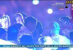 Real Madridli futbolculardan Piqueye küfürlü tezahürat