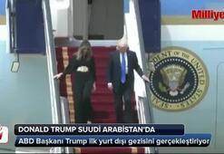 Donald Trump Suudi Arabistanda