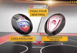 THY Avrupa Liginde Olympiakos finalde