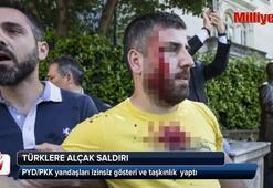 Türklere alçak saldırı