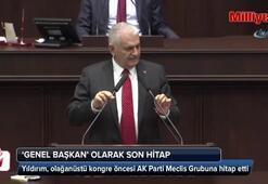 AK Parti grubuna 'genel başkan' olarak son hitap
