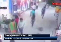 Çamaşırhanede patlama: 14 yaralı