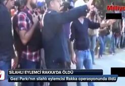 Silahlı eylemci Rakkada öldü
