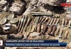 Hainlerin 26ncı ini de bulundu