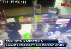 Çekiçli soygun polise takıldı