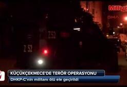 DHKP-Cnin militanı İstanbuldaki operasyonda ölü ele geçirildi