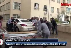 Kuzenlerin balık avı kavgasında Kalaşnikof kullanıldı: 2 ölü