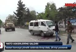 Kabilde NATO askerlerini taşıyan konvoya saldırı: 8 ölü, 25 yaralı