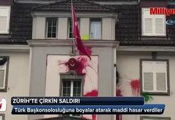 İsviçrede Türk Başkonsolosluğuna saldırı