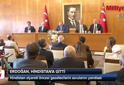 Cumhurbaşkanı Erdoğan Hindistana gitti
