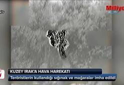 Türk jetleri Kuzey Irak'ta PKK'yı vurdu