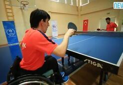 Şampiyon raket ailelere seslendi: Engelli  çocuklarınızı eve hapsetmeyin