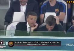 Dybalanın 2. golü Enriqueyi çıldırttı