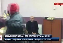 Terör örgütü DHKP-C üyesi 3 kişi gözaltına aldı