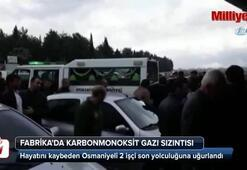 Karbonmonoksit gazından zehirlenen işçiler toprağa verildi
