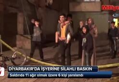 Diyarbakır'da işyerine silahlı saldırı