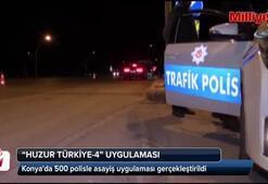 Konyada 500 polisle asayiş uygulaması