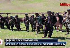 200 Taliban üyesi teslim oldu