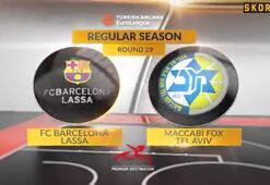Barcelona Maccabiye acımadı
