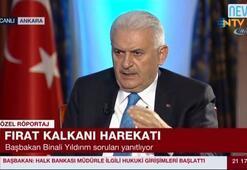 """Başbakan Yıldırım: """"Fırat kalkanı harekatı bitmiştir"""""""