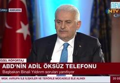 Başbakan Binali Yıldırım NTVde soruları yanıtladı