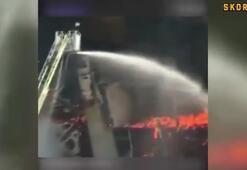 Shanghai Shenhuanın stadı yandı