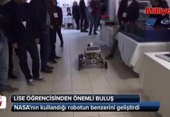 NASAnın kullandığı robotun benzerini geliştirdi