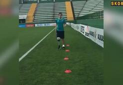 Chapecoense oyuncusu sahalara dönüyor