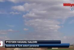 PYD Mümbiçten Türk askerine saldırdı