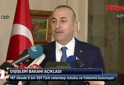 Yurt dışında kaç tutuklu ve hükümlü Türk vatandaşı var