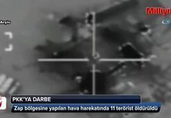 11 PKK'lı terörist etkisiz hale getirildi