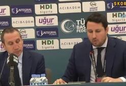 David Blatt: Gerçekten zor ve sert bir maç oldu