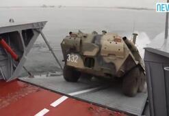 Rusya Batıya yüzen tankla yanıt verdi
