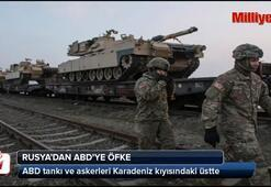 ABD tankları Karadeniz kıyısındaki üstte