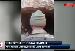 DEAŞ tünelleri ortaya çıkarıldı