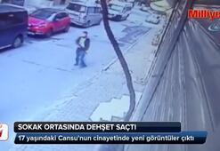 17 yaşındaki Cansunun cinayetinde yeni görüntüler ortaya çıktı
